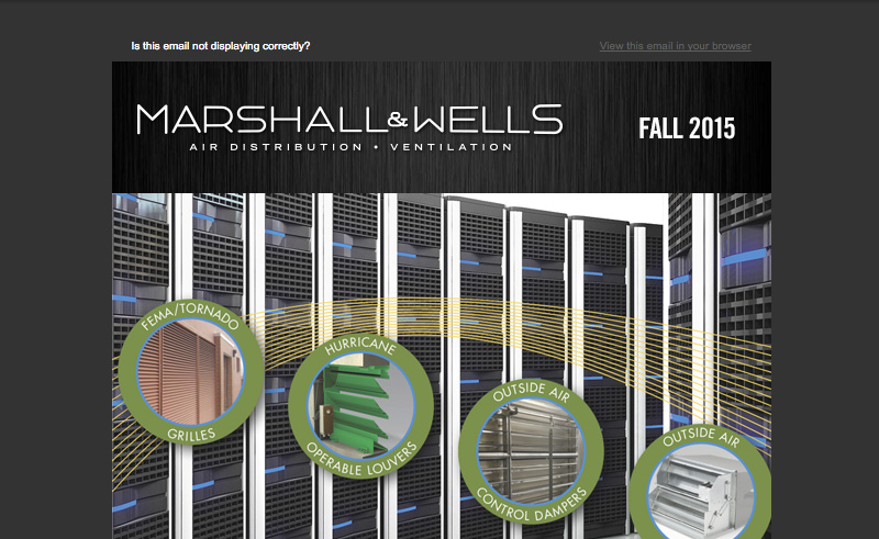 Marshall Wells Newsletter Fall 2015