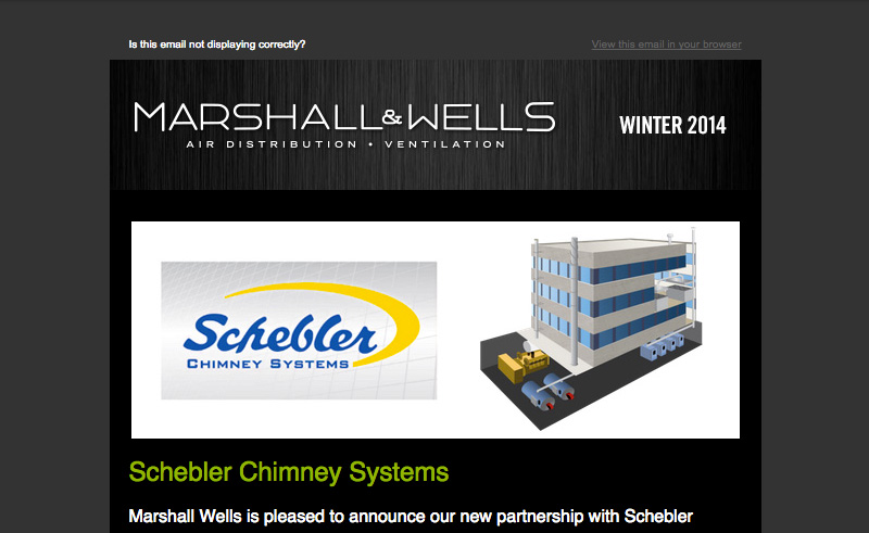 Marshall Wells Newsletter Winter 2014