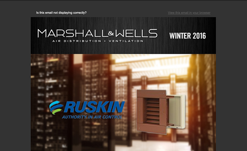 Marshall Wells Newsletter Winter 2016